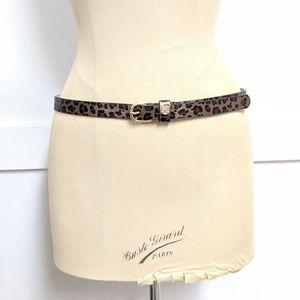 Vince Camuto Leppard Print Belt size 36